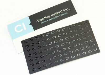 Creative Instinct Business Card