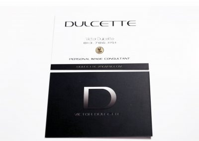 Dulcette Business Card