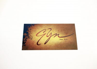 Gyn Business Card
