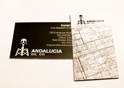 Andalucia Oil Business Card