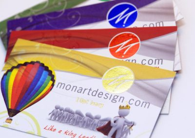 Monart Design Business Card