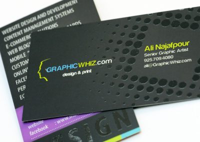 Graphic Whiz Business Card