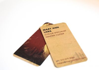 Mary Ann Lara Business Card