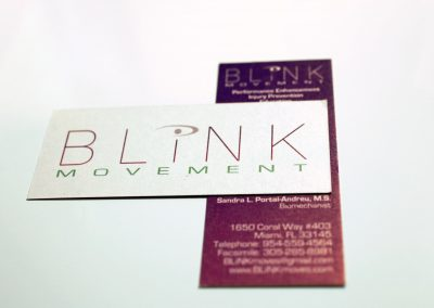 Blink Movement Business Card