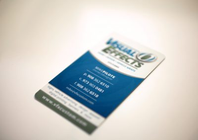 Visual Effects Business Card