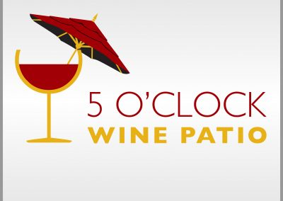 5 O'clock Wine Patio Logo