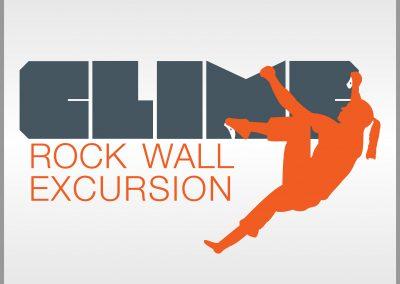 Climb Rock Wall Excursion Logo