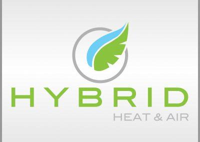 Hybrid Heat & Air Logo