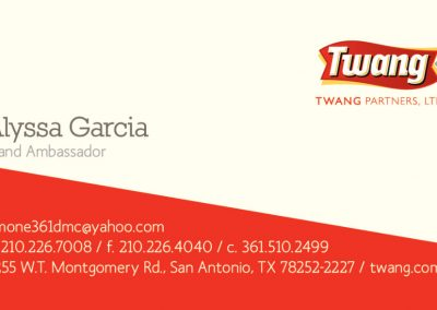 Twang Business Card