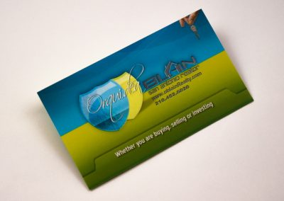 Orquidae Blain Business Card