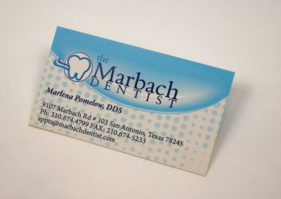 Marbach Dentist Business Card