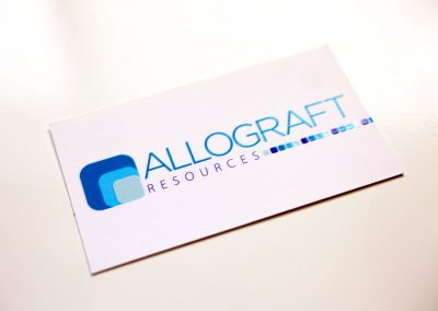 Allograft Resource Business Card