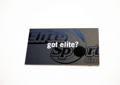Elite Sports Business Card