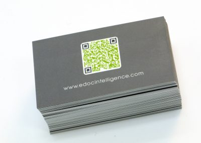 eDoc Intelligence QR Code Business Card