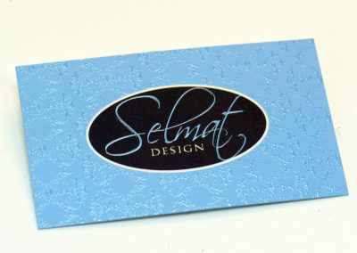 Selmart Design Spot UV Business Card