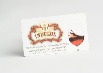 Indulge Business Card