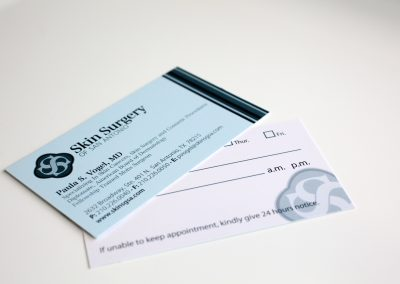 Skin Surgery Business Card