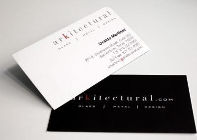 Arkitectural Business Card