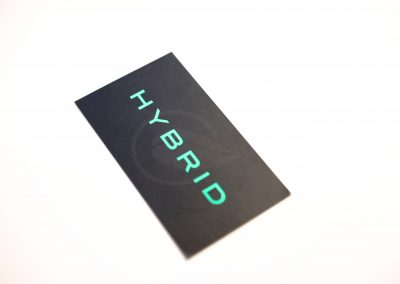 Hybrid Business Card