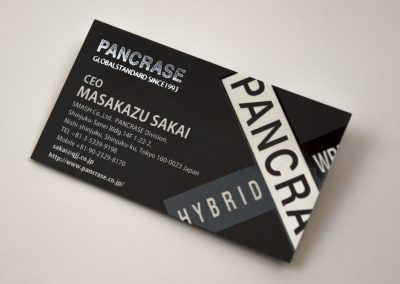 Pancrase Business Card