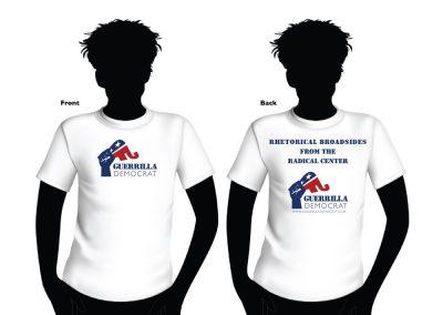 Guerrilla Democrat Tshirt