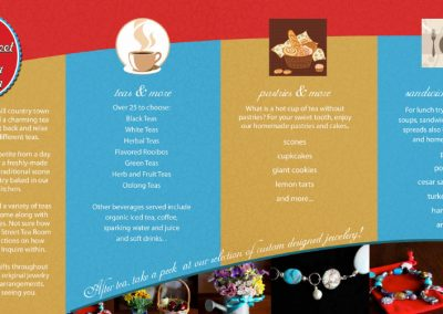 Front Street Tea Room Brochure