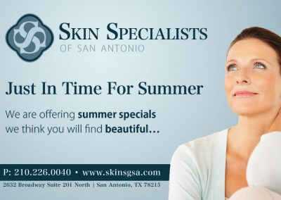Skin Specialists Business Card