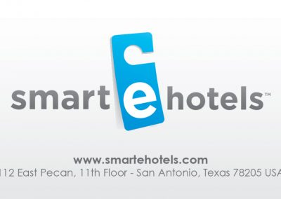 Smart E Hotels Business Cards