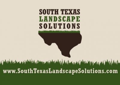 South Texas Landscape Solutions Business Card