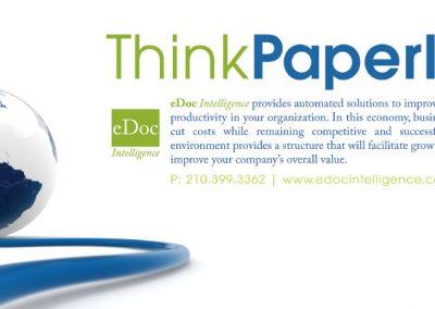 eDoc Intelligence Rack Card